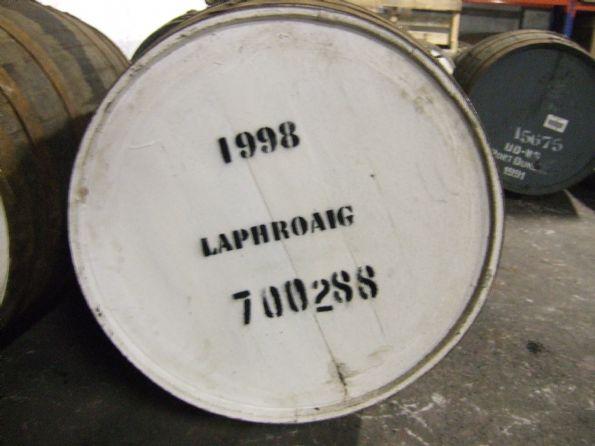 Laphroaig fadet <br /> Her ses MacAlaburs fad no. 9 - et Laphroaig fad fra 1998 <br /><br /> Billedet er uploaded af: <b>BrianToft</b>