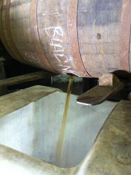 BenRiach aftapningen 2011 <br /> S&aring; kommer der 12 &aring;rs gammel whisky ud af fadet <br /><br /> Billedet er uploaded af: <b>BrianToft</b>